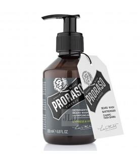 Proraso Cypress & Vetyver szampon do brody 200 ml