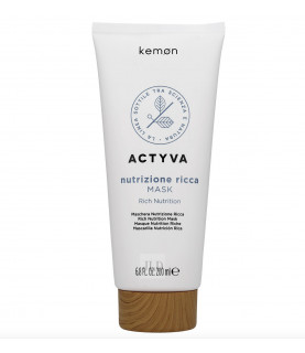 Kemon Actyva Nutrizione Ricca maska do bardzo suchych włosów 200 ml