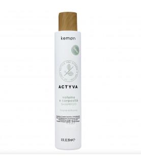 Kemon Actyva Volume E Corposità szampon dodający objętości i grubości 250 ml