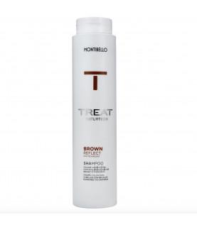 Montibello Treat Naturtech Colour Reflect szampon do włosów farbowanych na brązowo 300 ml