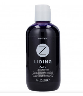 Kemon Liding Color Cold rozświetlający szampon dla blond włosów 250 ml