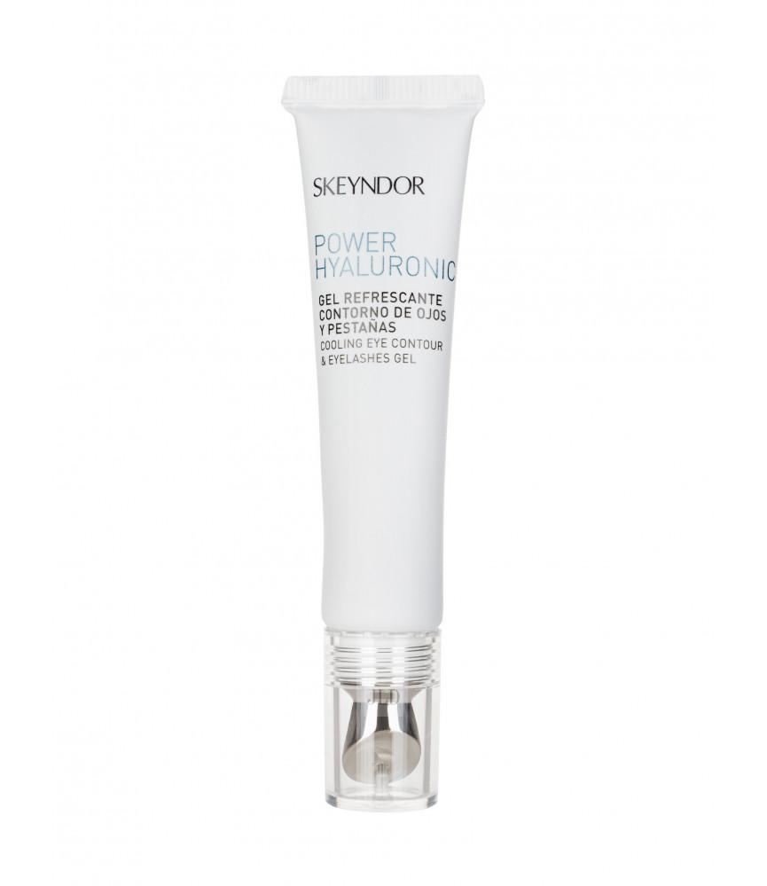 Skeyndor Power Hyaluronic Żel pod oczy Cooling Eye Contour & Eyelashes Gel 15 ml