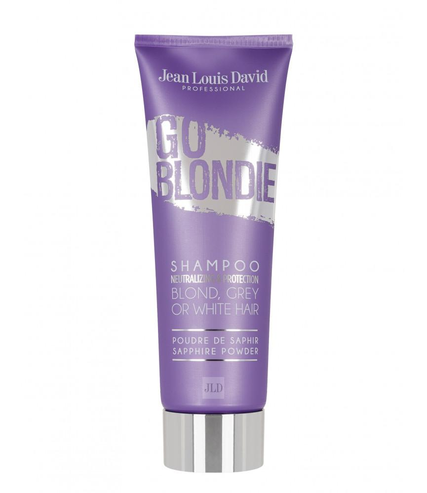 JLD Go Blondie szampon neutralizujący żółte odcienie 250 ml