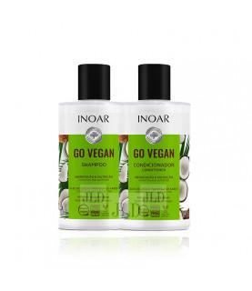 INOAR Go Vegan zestaw z wegańską formułą