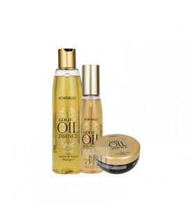 Montibello Gold Oil Essence zestaw wydobywający piękno
