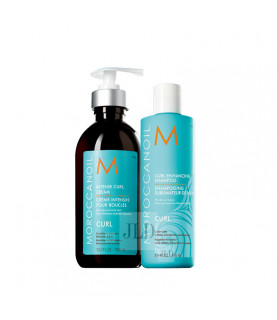 Moroccanoil Curl zestaw do włosów kręconych i falowanych