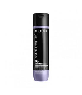 Matrix So Silver odżywka do włosów siwych i blond 300 ml