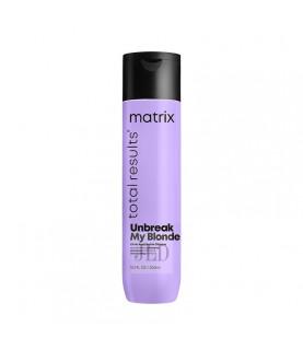 Matrix Unbreak My Blonde szampon wzmacniający do włosów osłabionych rozjaśnianiem 300 ml