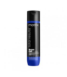 Matrix Brass Off odżywka nawilżająca do włosów rozjaśnianych 300 ml