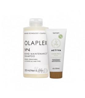 Olaplex i Kemon zestaw regenerujący włosy zniszczone