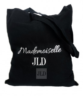 JLD czarna torba materiałowa