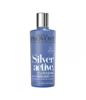 FP Silver Active szampon do blond, siwych i białych włosów 250 ml - min 1