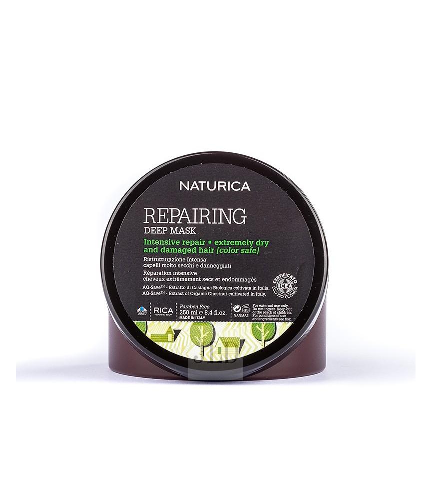 RICA Repairing maska dla ekstremalnie suchych i zniszczonych włosów 250 ml