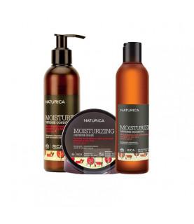 RICA Moisturizing zestaw nawilżający dla suchych i normalnych włosów