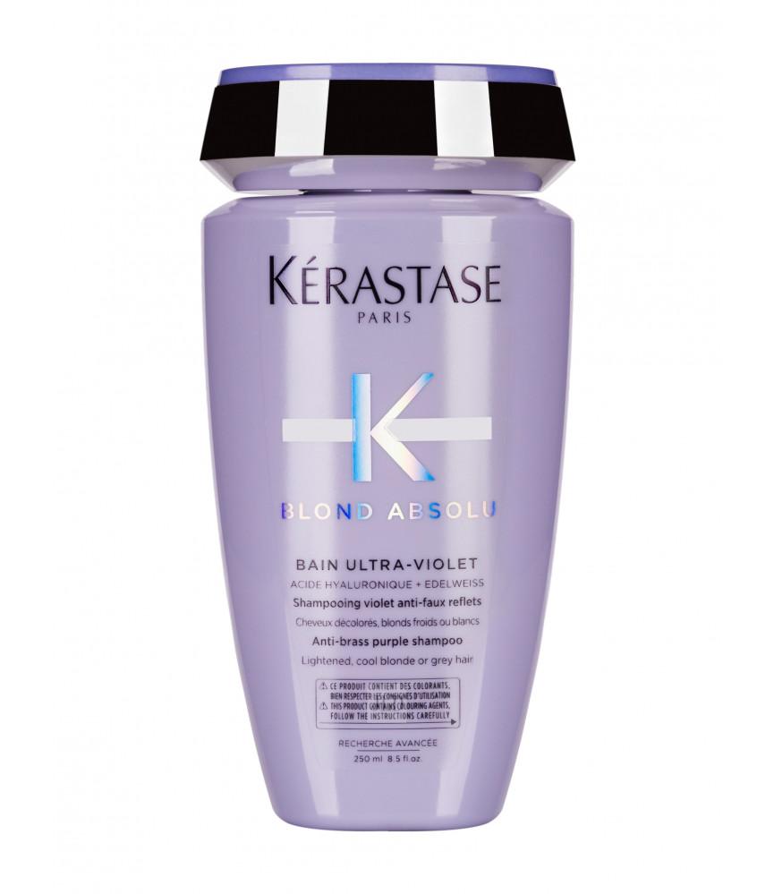 Kérastase Blond Absolu Ultra-Violet szampon niwelujący żółte odcienie 250 ml