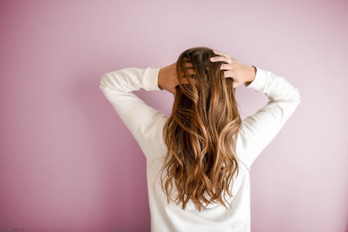 Kobiece włosy
